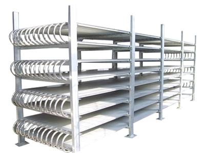 速冻搁架铝排管